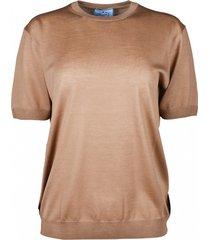 t-shirt van wol