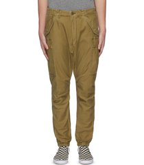 'core surplus' military cotton cargo pants