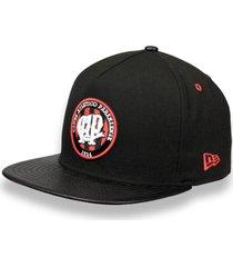 bonã© new era 5950 a-frame atletico paranaense aba reta preto - preto - masculino - dafiti