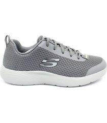 zapatillas para hombre skechers dina-lite 52531/char - gris