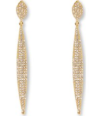 women's vince camuto crystal drop clip earrings