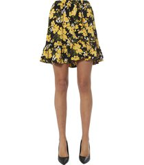 michael michael kors skirt with ruches