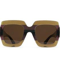 matt & nat avila sunglasses, brown