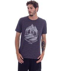 camiseta o'neill especial mountains cinza masculino - masculino