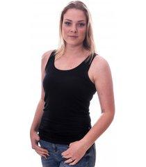 claesens women singlet black ( cl 8018 )