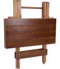 mesa decker bar dobrável, 70 cm, imbuia
