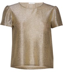 wesley top blouses short-sleeved guld ida sjöstedt