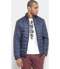jaqueta jab matelassê toque lã masculina