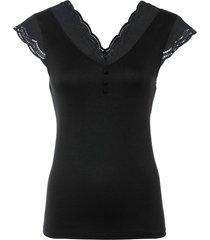 maglia con lenzing™ ecovero™ (nero) - bodyflirt