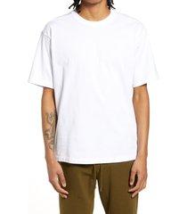 men's big & tall bp. solid crewneck t-shirt, size 4x-large - white