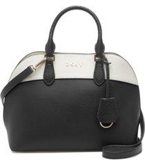 dkny bobi leather satchel