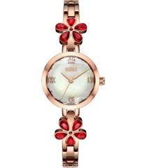 reloj loix ref. l1192-4 rosa/rojo