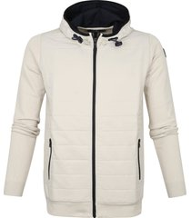 vanguard vkc211362 8023 hooded jacket cotton polyamide beige