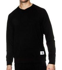 calvin klein monogram ls sweatshirt * gratis verzending *