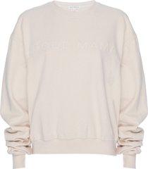 plus size women's good american good mama oversize graphic sweatshirt