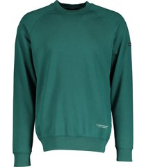 scotch & soda sweater - slim fit - groen