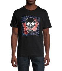 robert graham men's cullman cotton t-shirt - black - size xl