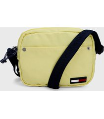 bolso amarillo-azul tommy jeans