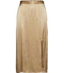 ensimi skirt 6650 knälång kjol beige envii