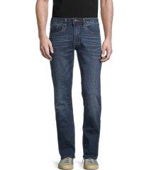 buffalo david bitton men's low-rise relaxed jeans - indigo - size 28 30