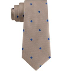 tommy hilfiger men's derby oxford dot silk tie