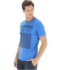 camiseta puma workding - masculina - azul
