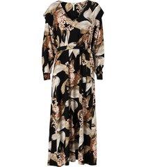 maxiklänning objliliti l/s long dress