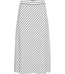 brielle skirt knälång kjol vit lexington clothing