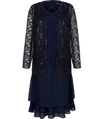 set: jurk en blazer m. collection marine