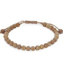 link up adjustable beaded bracelet