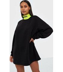 missguided high neck sweater dress loose fit dresses