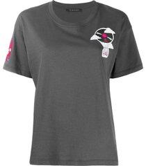 xts0172 embroidery regular t-shirt