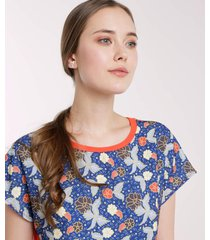 camiseta manga corta cuello redondo, frente en tejido plano con sublimación naranja 10