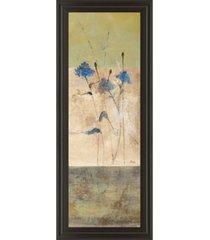 """classy art kimono il by loretta linza framed print wall art - 18"""" x 42"""""""