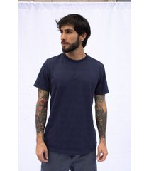 camiseta pompilio tejido de punto rayas preteñida