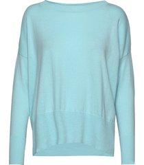 ladies knit sweater, villis stickad tröja blå nanso