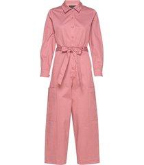 slflara ls jumpsuit b jumpsuit roze selected femme