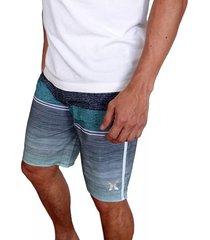 pantaloneta hurley phantom cove bdst in para hombre - gris
