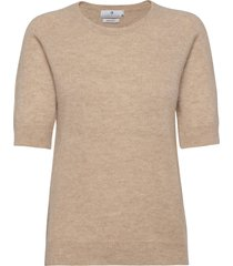 georgina t-shirts & tops knitted t-shirts/tops beige arnie says