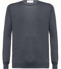 john smedley maglia hatfield in cotone grigio