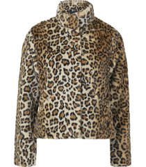 fuskpäls onlvida leo faux fur jacket