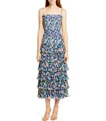 women's amur viola floral print dress