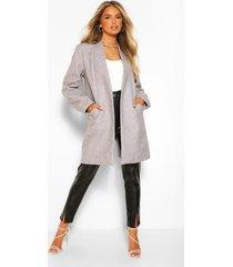 lichte nepwollen jas, grey