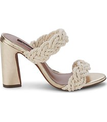 athena braided sandals