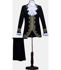 mens classic abito da principe casual a cinque pezzi palace wedding stage banquet blazer formale pantaloni