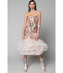 akira wishful thinking tulle ruffle dress
