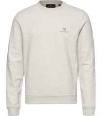 belstaff sweatshirt sweat-shirt trui crème belstaff