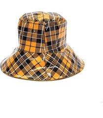 sombrero amarillo tropea piluso cuadros