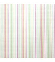 kit 2 rolos papel de parede fwb listrado rosa verde laranja e branco - branco/laranja/rosa/verde - dafiti