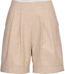 birgit shorts shorts flowy shorts/casual shorts beige wood wood